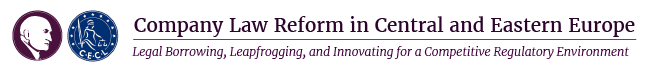 "Conference ""Company Law Reform in Central and Eastern Europe: Legal Borrowing, Leapfrogging, and Innovating for a Competitive Regulatory Environment"""