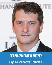 sędzia Zbigniew Miczek