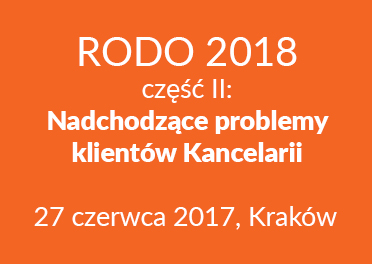 Zabezpieczony: RODO 2018 – część II